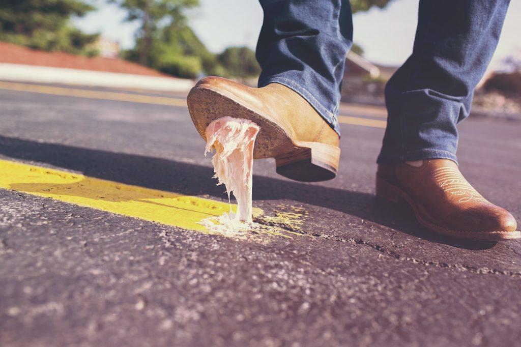 Gum-Wall – kleben statt spucken