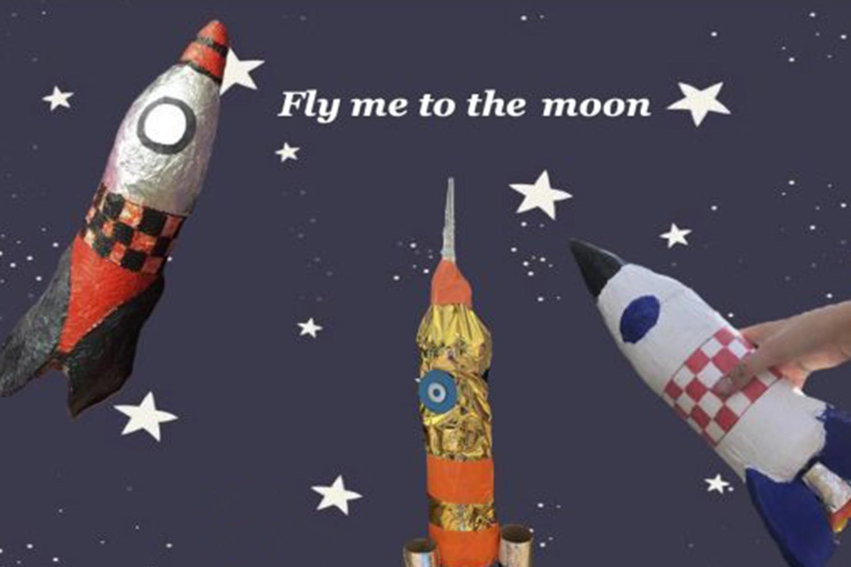 Fly me to the moon – Dem Alltag entfliegen