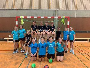 Mit dem Ball in der Hand geben wir Vollgas – Handball-AG Klasse 6 (SJ 2020/21)