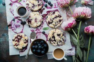 Tassenkuchen- Blaubeere-Joghurt